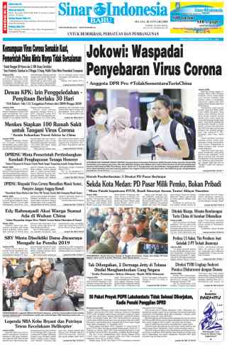 Jokowi: Waspadai Penyebaran Virus Corona