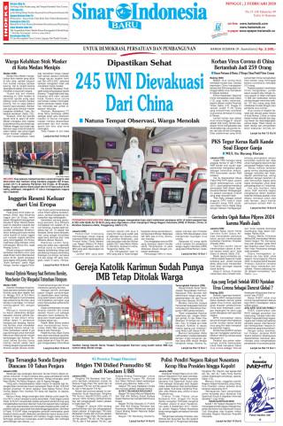 245 WNI Dievakuasi Dari China