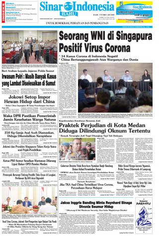 Seorang WNI di Singapura Positif Virus Corona