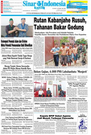 Rutan Kabanjahe Rusuh, Tahanan Bakar Gedung