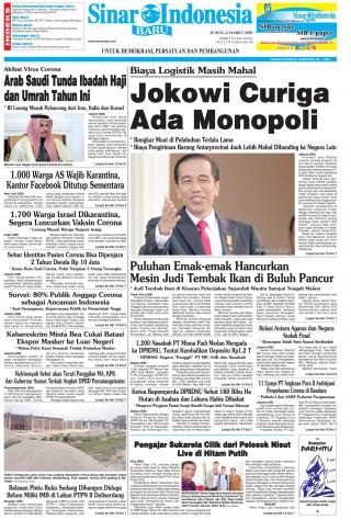 Jokowi Curiga Ada Monopoli