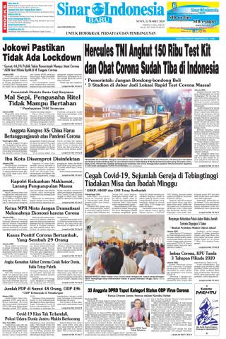Hercules TNI Angkut 150 Ribu Test Kit dan Obat Corona Sudah Tiba di Indonesia