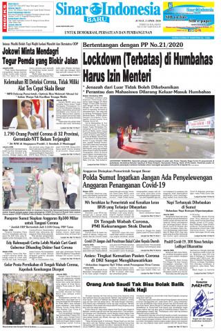 Lockdown (Terbatas) di Humbahas Harus Izin Menteri