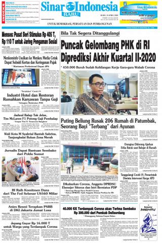 Puncak Gelombang PHK di RI Diprediksi Akhir Kuartal II-2020