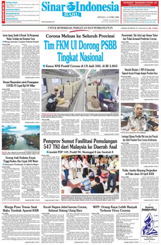 Tim FKM UI Dorong PSBB Tingkat Nasional
