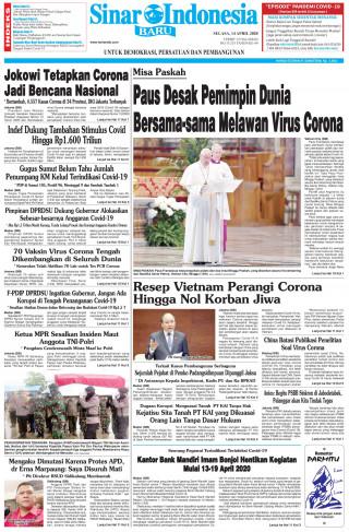 Paus Desak Pemimpin Dunia Bersama-sama Melawan Virus Corona