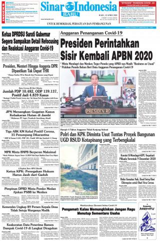 Presiden Perintahkan Sisir Kembali APBN 2020