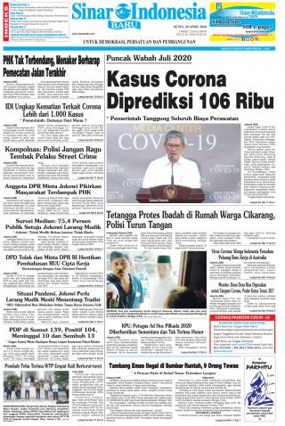 Kasus Corona Diprediksi 106 Ribu
