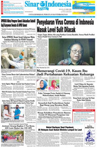 Penyebaran Virus Corona di Indonesia Masuk Level Sulit Dilacak