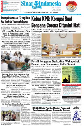 Ketua KPK: Korupsi Saat Bencana Corona Dituntut Mati