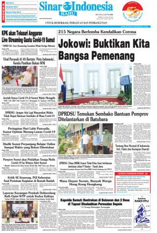 Jokowi: Buktikan Kita Bangsa Pemenang