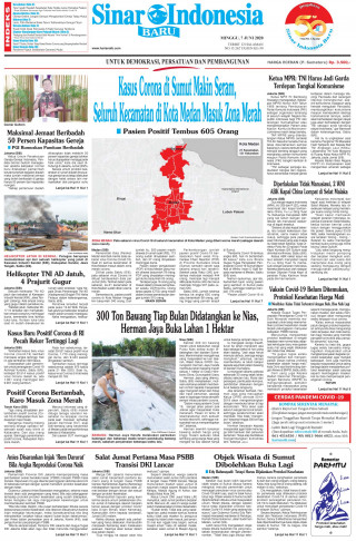Kasus Corona di Sumut Makin Seram, Seluruh Kecamatan di Kota Medan Masuk Zona Merah