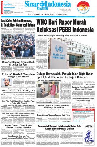 WHO Beri Rapor Merah Relaksasi PSBB Indonesia