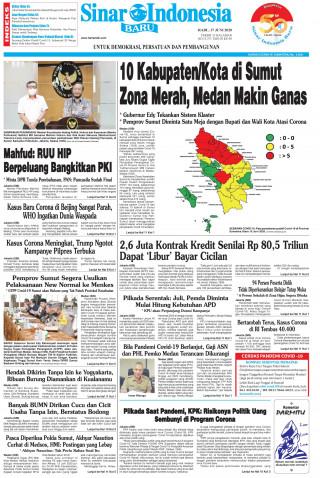 10 Kabupaten/Kota di Sumut Zona Merah, Medan Makin Ganas