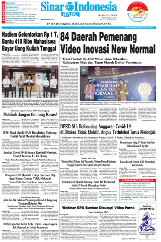 84 Daerah Pemenang Video Inovasi New Normal