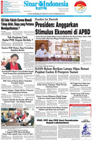 Presiden: Anggarkan Stimulus Ekonomi di APBD