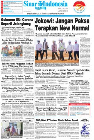 Jokowi: Jangan Paksa Terapkan New Normal
