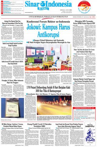 Jokowi: Kampus Harus Antikorupsi
