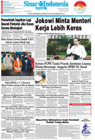 Jokowi Minta Menteri Kerja Lebih Keras