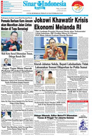 Jokowi Khawatir Krisis Ekonomi Melanda RI