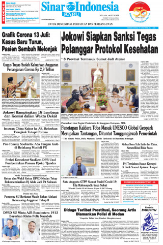 Jokowi Siapkan Sanksi Tegas Pelanggar Protokol Kesehatan
