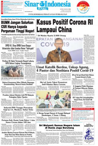 Kasus Positif Corona RI Lampaui China