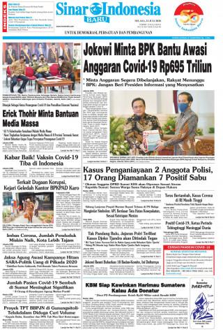 Jokowi Minta BPK Bantu Awasi Anggaran Covid-19 Rp 695 Triliun