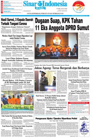 Dugaan Suap, KPK Tahan 11 Eks Anggota DPRD Sumut