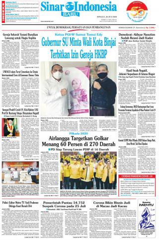 Gubernur SU Minta Wali Kota Binjai Terbitkan Izin Gereja HKBP