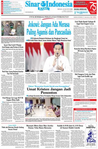 Jokowi: Jangan Ada Merasa Paling Agamis dan Pancasilais
