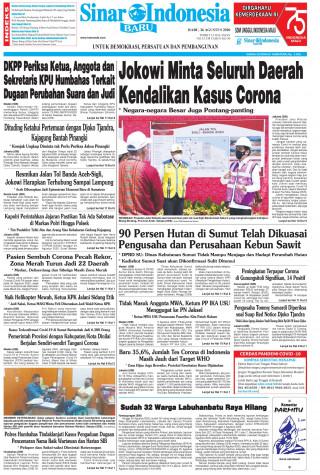 Jokowi Minta Seluruh Daerah Kendalikan Kasus Corona
