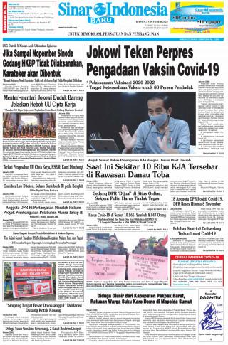 Jokowi Teken Perpres Pengadaan Vaksin Covid-19