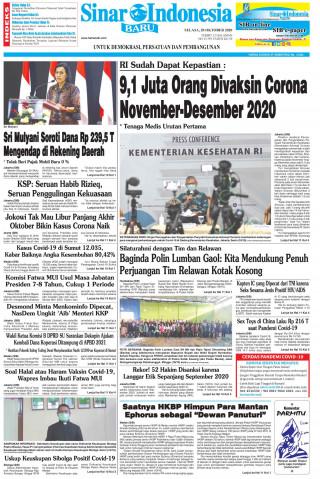 9,1 Juta Orang Divaksin Corona November-Desember 2020