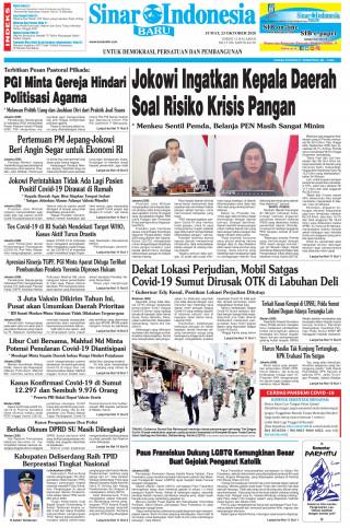 Jokowi Ingatkan Kepala Daerah Soal Risiko Krisis Pangan