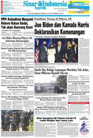 Joe Biden dan Kamala Harris Deklarasikan Kemenangan