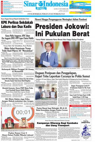 Presiden Jokowi: Ini Pukulan Berat