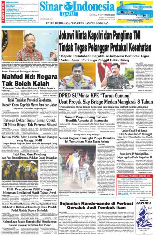 Jokowi Minta Kapolri dan Panglima TNI Tindak Tegas Pelanggar Protokol Kesehatan