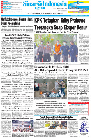 KPK Tetapkan Edhy Prabowo Tersangka Suap Ekspor Benur