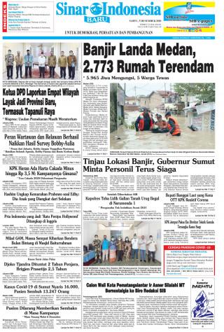 Banjir Landa Medan, 2.773 Rumah Terendam