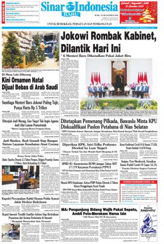 Jokowi Rombak Kabinet, Dilantik Hari Ini