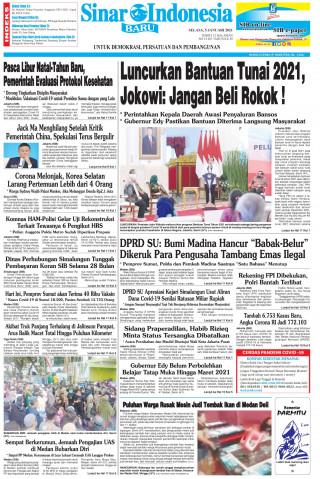 Luncurkan Bantuan Tunai 2021, Jokowi: Jangan Beli Rokok !