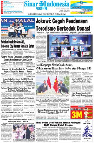 Jokowi: Cegah Pendanaan Terorisme Berkedok Donasi