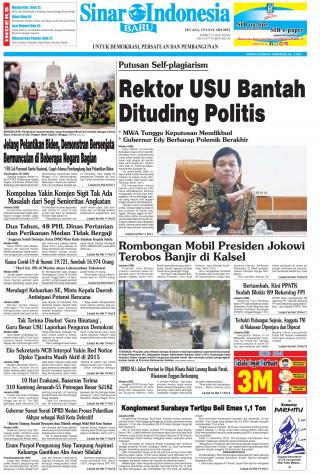 Rektor USU Bantah Dituding Politis