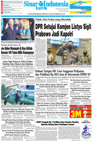 DPR Setujui Komjen Listyo Sigit Prabowo Jadi Kapolri