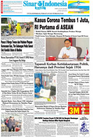 Kasus Corona Tembus 1 Juta, RI Pertama di ASEAN
