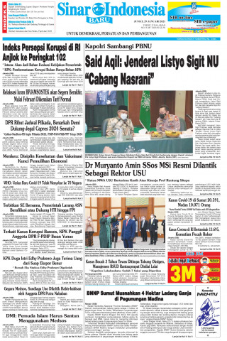 "Said Aqil: Jenderal Listyo Sigit NU ""Cabang Nasrani"""