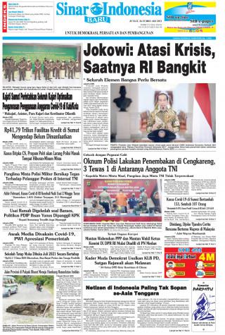 Jokowi: Atasi Krisis, Saatnya RI Bangkit