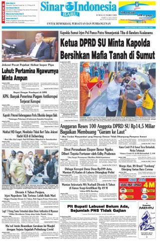 Ketua DPRD SU Minta Kapolda Bersihkan Mafia Tanah di Sumut