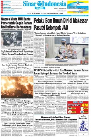 Pelaku Bom Bunuh Diri di Makassar Pasutri Kelompok JAD