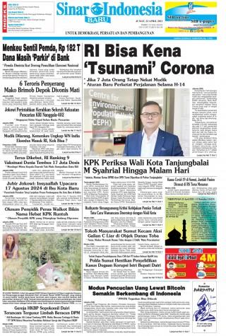 RI Bisa Kena 'Tsunami' Corona